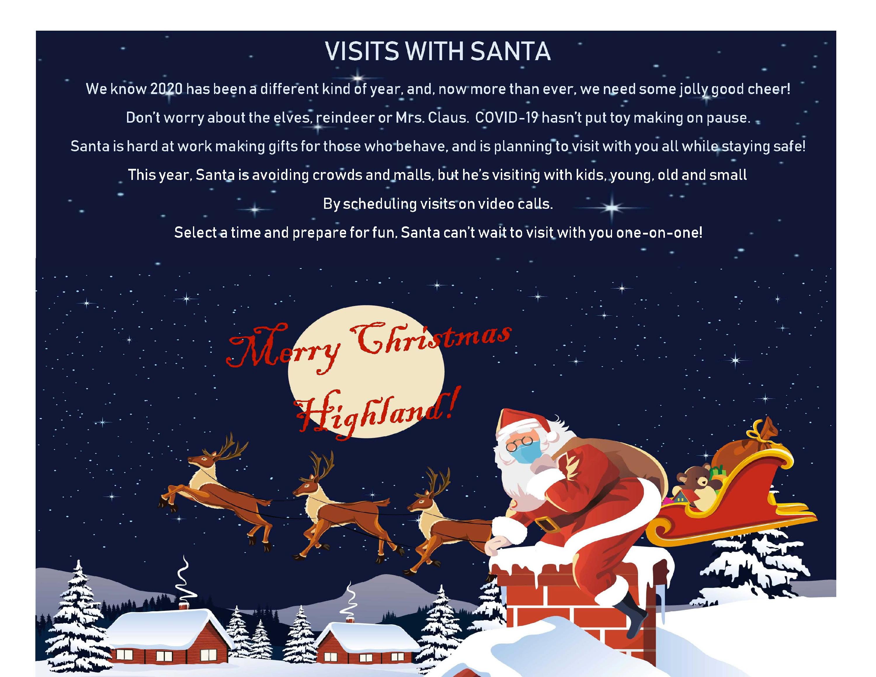 Virtual Santa_website